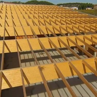 magi cuberta estructures integrals de fusta